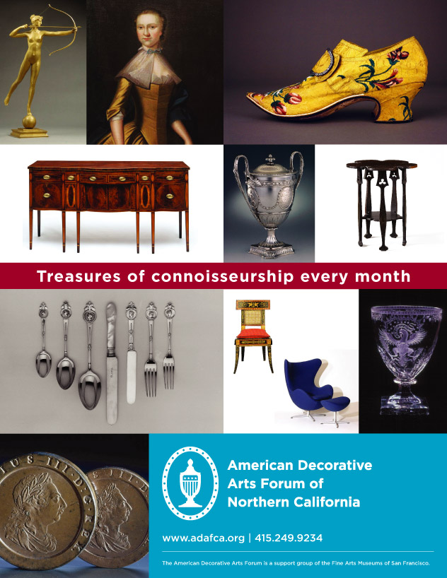 American Decorative Arts Forum Ad Campaign by Kyle McGuire